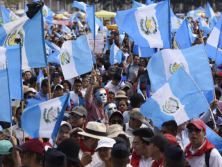 Guatemalans Confront Government Over Its Resistance to Fight Corruption