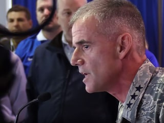 Air Force Academy Head Tells Racists to 'Get Out' in Impassioned Speech