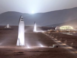 Elon Musk Tweaks His Audacious Plan to Put People on Mars
