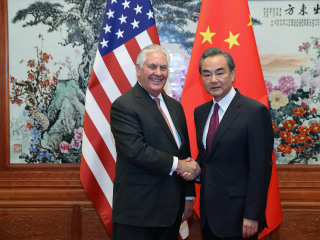Tillerson in China as U.S. Presses North Korea Sanction Squeeze