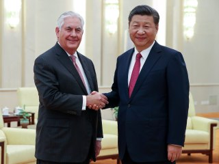 U.S. Has 'Lines of Communication' with North Korea, Tillerson Says