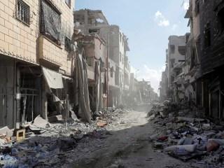 Red Cross Warns of 'Harrowing' Spike in Civilian Deaths in Syria War