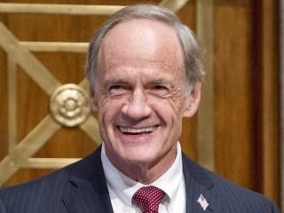 Long-serving Sen. Carper faces upstart challenger in Delaware Democratic primary