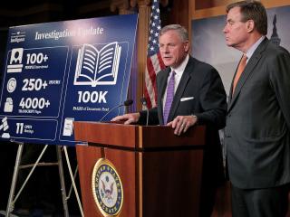Senate Intel Heads Say Trump-Russia Collusion Is Still Open Question