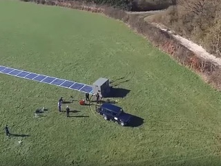 Roll-Up Solar Panels May Be Game-Changer for Disaster Relief