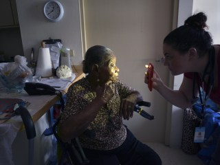 Relief Team in Puerto Rico Brings Aid and Comfort to Elderly