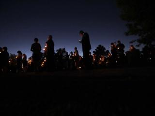 Memorial Held for Fallen Las Vegas Police Officer