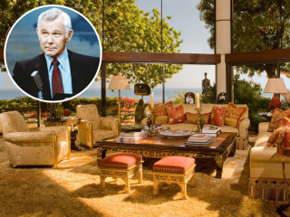 Heeeeere's Johnny's house! See late night king's incredible Malibu mansion