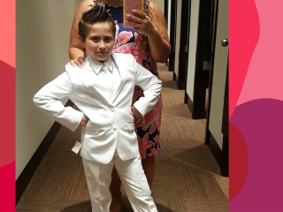 9-year-old girl 'heartbroken' that she couldn't wear pantsuit to first communion