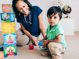Meet the Mom Helping Parents Pass on Diwali Traditions