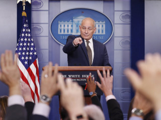Trump Chief of Staff John Kelly Declares He's 'Not Quitting Today'