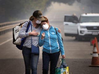 Death Toll in California Wildfires Rises to 31; Some Survivors Escaped Just In Time