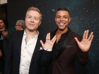 Anthony Rapp, Wilson Cruz on 'Star Trek: Discovery' Coupledom