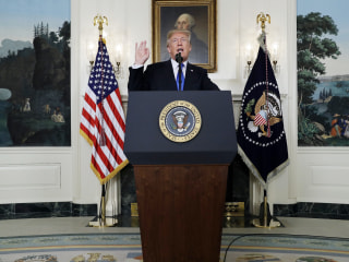 Trump Threatens to Cancel Iran Nuclear Deal If It's Not Strengthened