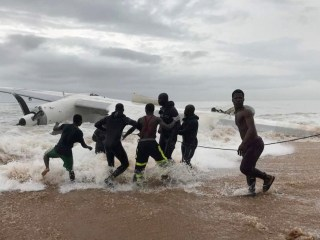 Cargo Plane Crashes Into Sea Off Abidjan, Ivory Coast, Killing Four