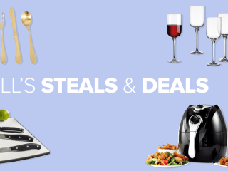 Cooking Steals and Deals: Knife set, air fryer, flatware EXPIRED