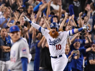 Dramatic Walk-Off HR Gives Dodgers 2-0 Lead Over Cubs in NLCS