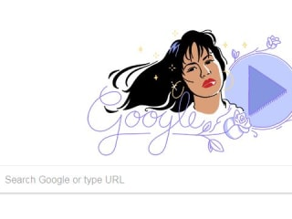 Google Honors Selena With Doodle