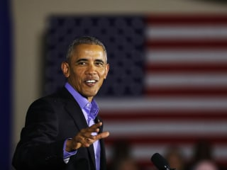 Obama Knocks 'Old Politics of Division' in Return to Campaign Trail