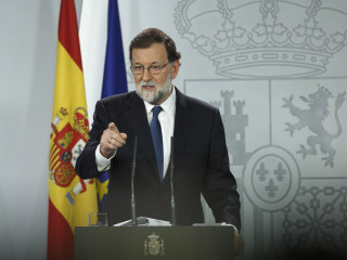 Spain's PM Rajoy Removes Catalonia Leader, Will Call Regional Elections
