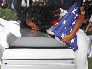 Funeral Held for Sgt. La David Johnson, Soldier Killed in Niger