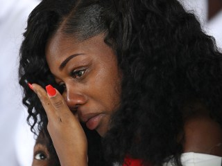 Gold Star Widow Myeshia Johnson Says in Phone Call, Trump Couldn't Remember Husband's Name