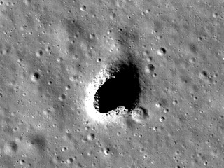 This Gigantic Lava Tube Could Be Home for Moon Colonists