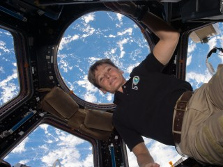 Oldest Woman In Space Reveals How She Stays Healthy At 57