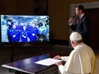 Pope Francis Dials the Heavens, Gets Philosophical With Astronauts Aboard Space Station