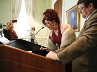 Alabama Drag Queen Donates Outfit From Gay Marriage Fight