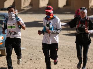 Afghan Girls and Women Run in Mixed-Gender Bamiyan Marathon