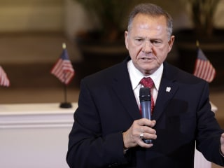 Republicans Say Moore's More Trouble Than a Senate Seat's Worth
