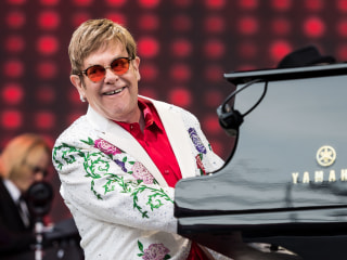 Harvard Honors Elton John for Work Fighting HIV/AIDS