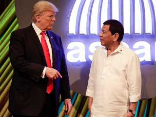 As Trump Meets Duterte in Philippines, Issue of Rights Comes Up 'Briefly'