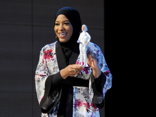 Olympian Ibtihaj Muhammad Honored with First-Ever Hijab-Wearing Barbie