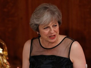 U.K. PM Theresa May says Russia seeks to 'weaponize' information