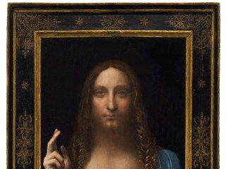 Leonardo da Vinci's 'Salvator Mundi' painting sells for record $450M