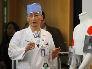 North Korea defector's 10-inch parasite hints at poor diet in isolated nation