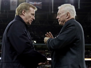 Inside the Jerry Jones vs. Roger Goodell feud