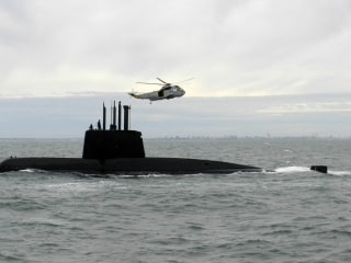 Argentina says signals detected, likely from missing submarine carrying 44