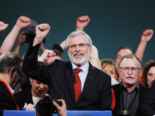 Sinn Fein's divisive leader Gerry Adams to step down after 30 years