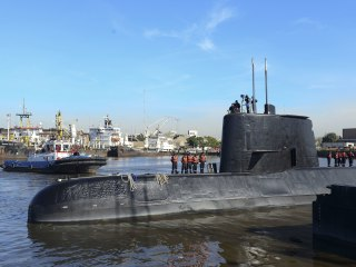 Argentina says sound detected in sub search may be an explosion