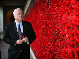 From POW to presidential contender: John McCain's life in pictures