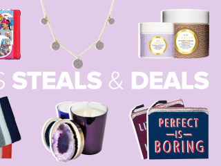 Small Business Steals and Deals: Jewelry, body scrubs, throw blankets and more