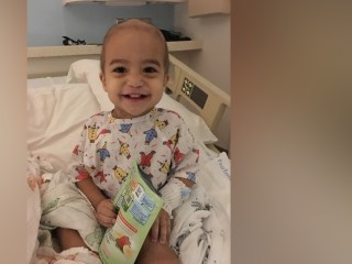 Toddler with cancer gets life-saving transplant — just in time for Thanksgiving