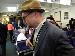 Glenn Thrush, New York Times reporter, suspended after sexual misconduct accusations