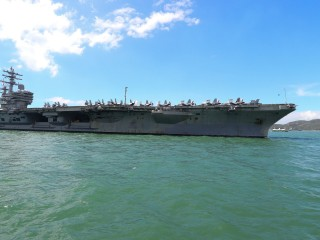 U.S. Navy aircraft with 11 aboard crashes into sea off Japan; 8 found alive