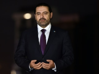 Lebanon Prime Minister Saad Hariri puts resignation on hold