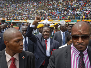 Who is 'Crocodile' Emmerson Mnangagwa, Zimbabwe's new president?