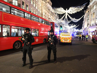 Police respond to Oxford Street station in London after unconfirmed reports of gunfire